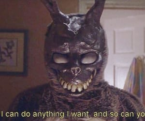 donnie darko, time travel, and black and white image