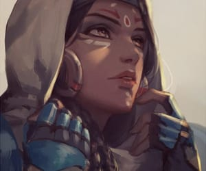 video game, pharah, and overwatch image