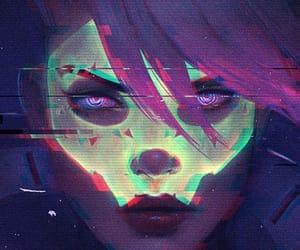 hacker, sombra, and overwatch image