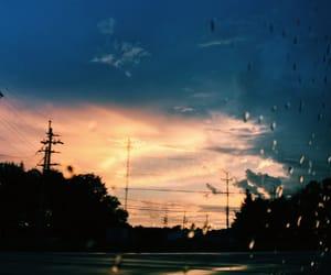 rain and sky image
