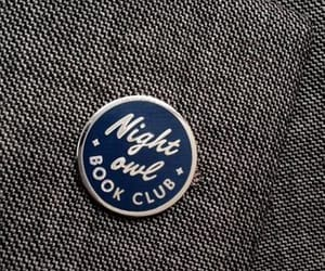 blue, pin, and book club image