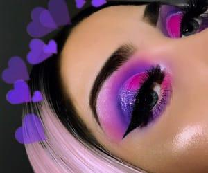 babe, beat, and eyeshadow image