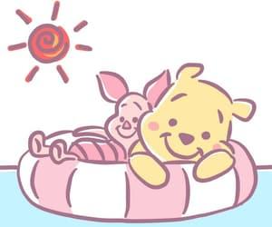 background, kawaii, and piglet image