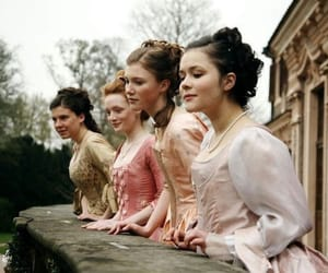 beauty, old, and period drama image