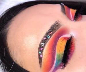 eye makeup, makeup, and eye look image