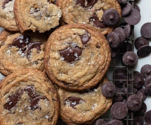 chocolate, Cookies, and delicioso image