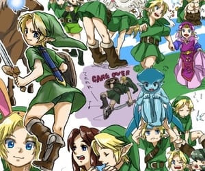 Legend of Zelda, the legend of zelda, and ocarina of time image