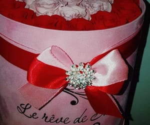 cadeau, gift, and rose image