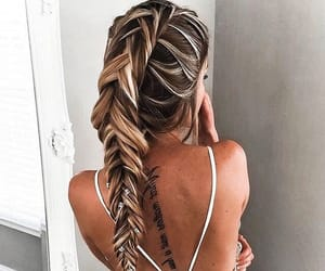 beauty, hair style, and inspiration image