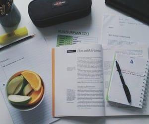 study, fruit, and homework image