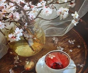 relaxing, herbal tea, and calming image