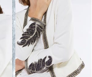 embroidery, look, and jacket image