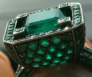 emerald, rings, and green image
