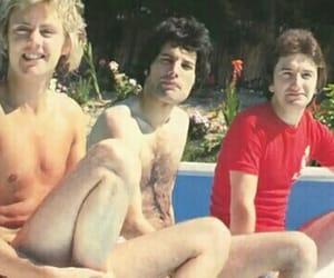 band, Queen, and john deacon image