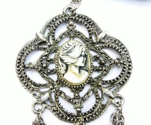 etsy, cameo necklace, and eclecticvintager image