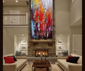 Abstract Painting, etsy, and painting image
