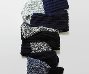 etsy, color block, and chunky scarf image