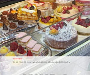 anime, bakery, and patisserie image