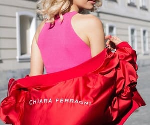 back, red, and ‎chiara ferragni‬ image