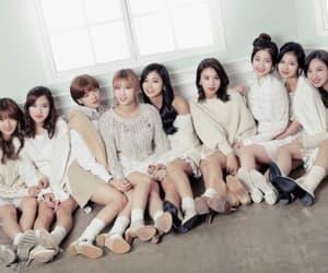 korean girls, kpop, and twice image