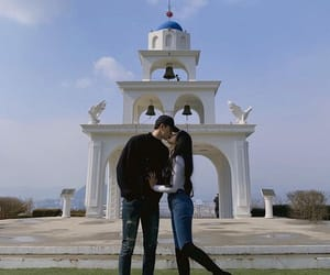 landscape, ulzzang couple, and love image