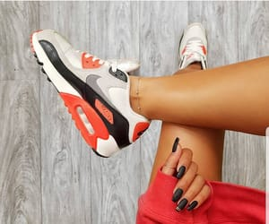 fashion, nails, and nike image
