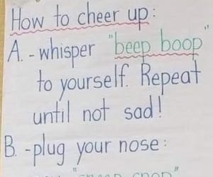 cheer up, feel better, and people image