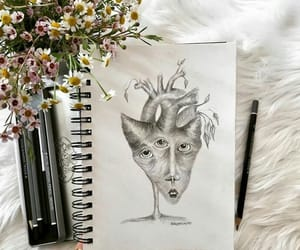 aesthetic, draw, and minimalist image