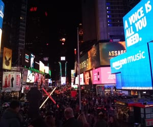 newyork, times square, and travel image