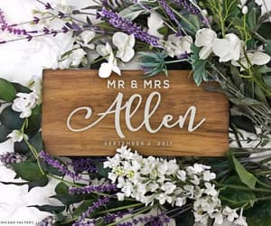 etsy, wood wedding sign, and wedding table sign image