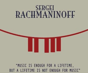classical music, piano, and rachmaninoff image