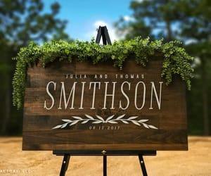 etsy, wedding gift, and custom wood sign image