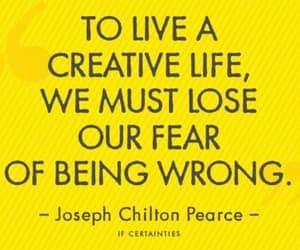 black text, creativity, and creative life image