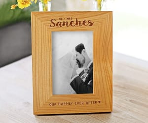 etsy, housewarming gift, and wooden picture frame image