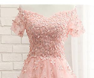 short homecoming dresses, cute homecoming dresses, and pink homecoming dresses image