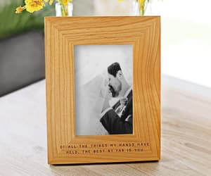 etsy, wooden frame, and housewarming gift image