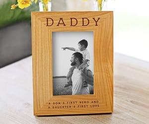 etsy, dad gifts, and wooden picture frame image