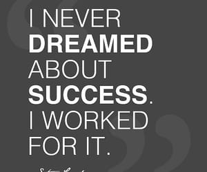 quotes, success, and Dream image