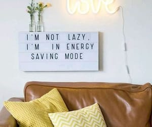 Lazy, energy saving mode, and couch lock image