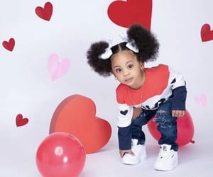baby, heart, and valentine's day image