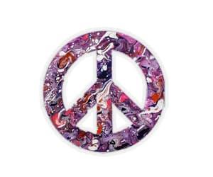 etsy, fluid art, and purplepeacesign image