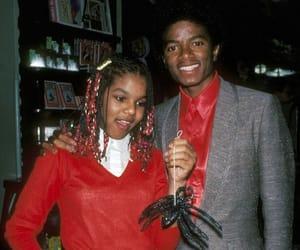 king of pop, michael jackson, and janet jackson image
