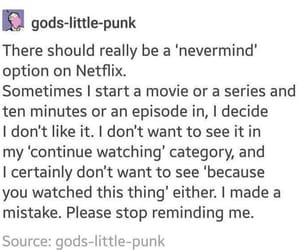 television, netflix, and textpost image