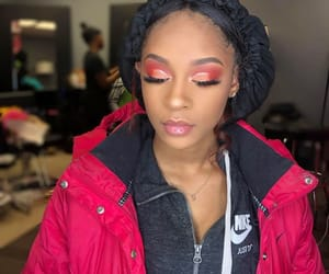 bonnet, lipgloss, and makeup image