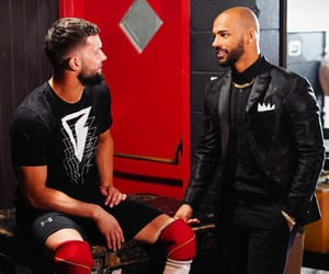 ricochet, wwe, and finn balor image