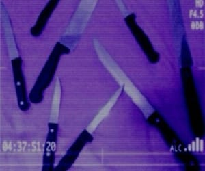 aesthetic, grunge, and knives image