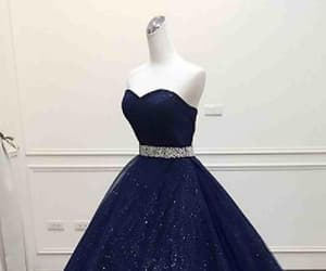 blue prom dresses, long prom dresses, and dark blue prom dresses image