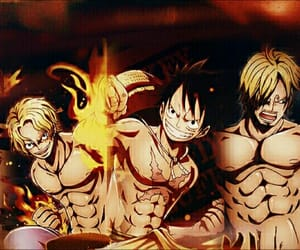 ace, luffy, and sabo image
