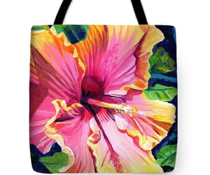 art, hawaii, and tote bags image