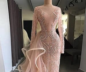 prom dresses, pink prom dresses, and sexy prom dresses image